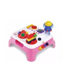 Mesa Maxi Atividades Educativa Magic Toys Mesinha Bebe