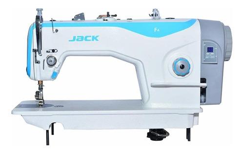 Máquina De Costura Industrial Jack F4 F4 Branco 220v