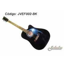 Violão Folk Cutway, Equalizador De 5 Bandas 40 Jahnke