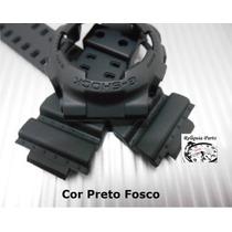 Kit Capa Pulseira Casio Ga-100 Gd-100 Ga-110 Ga-120 G-shock