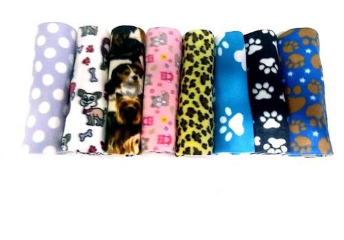 Kit 2 Cobertor Manta Pet Para Cães E Gatos