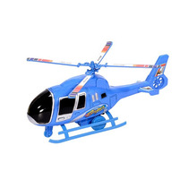 Helicóptero Azul Na Caixa Frete Grátis