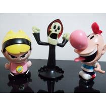 Coleção Mc Donalds Cartoon Network Billy Mandy Puro Osso !!!