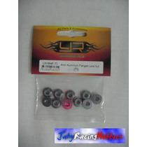 Pacote De Porcas Para Rodas 4mm Grafite Yeah Racing Oferta!!