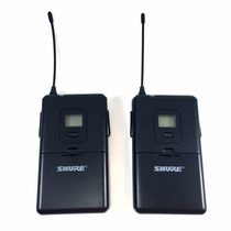 Transmissor Duplo Sem Fio Shure P/ Instrumentos Pg288 Pg14