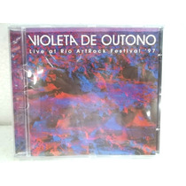 Violeta De Outono Live At Rio Art Rock Festival 97 Cd Origin