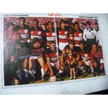 Poster Atlético P R Campeão Paraná 1988 Placar Frete Gratis