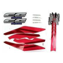 Kit Adesivo Completo Honda Cg Today 125 94 - Vermelho
