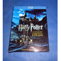 Box Blu Ray Harry Potter A  Coleçao Completa 8 Filmes