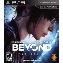 Jogo Novo Lacrado Beyond Two Souls Para Playstation 3