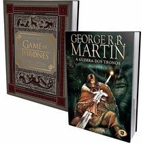 Kit Livros - Guerra Dos Tronos + Game Of Thrones (hq + Livro