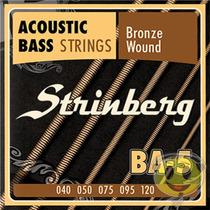 Encordoamento Baixo Acústico Baixolão 5 Cordas Strinberg
