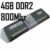 Memória Ddr2 4gb (1x 4gb) 800mhz