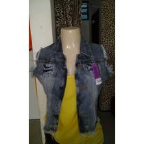 Colete Jeans Plus Size Feminino Tam 44 Ao 52! Apenas 79,99!!