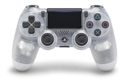 Controle Joystick Sony Dualshock 4 Crystal
