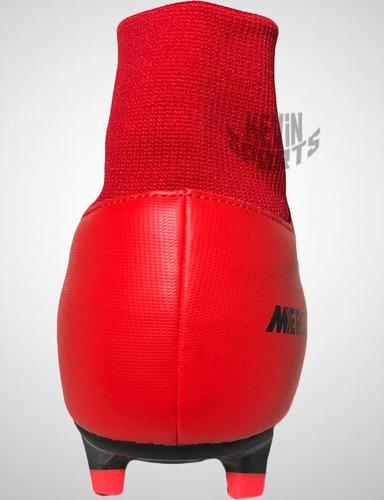 Chuteira Nike Mercurial Victory Vi Df Fg Botinha Campo. Preço  R  289 9  Veja MercadoLibre 01fefc317b4f9