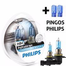 Lampada Hb4 Super Branca Cristal Vision Philips Crystal