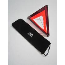 Capa Bolsa Triangulo Ferramentas Macaco Bordada Hyundai