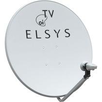 Antena 60cm Oi Tv Livre Hd + Lnb E 20mts De Cabo
