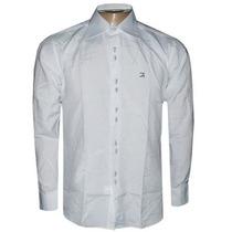 Camisa Social Ricardo Almeida Manga Longa Branca