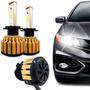 Kit Super Ultra Led Gold Automotivo 9000 Lumens 6000k 12-24v