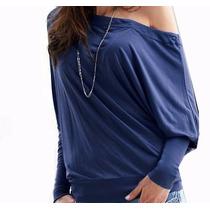 e68f7d9d2a26 Busca Blusa de malha ombro caido com os melhores preços do Brasil ...