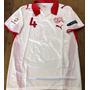Camisa Suiça Euro 2008 Branca Senderos #4 Completa Rara