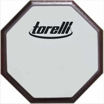 Pad Estudo Rudimento Baterista Torelli Nº10 Ta554 Face Dupla