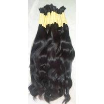 Cabelo Mega Hair Levemente Ondulado 70 Cm 50 Gramas.