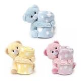 Manta Soft Ursinhos De Pelúcia Bebê Cobertor Anti-alérgico.