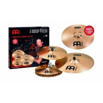 Kit De Pratos Meinl Mcs Liga B8 14/16/20 E Medium 18