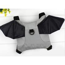 Coleira Batman - Mochila Morcego Guia Coleira Infantil