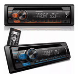 Cd Player Radio Pioneer Mixtrax Deh-s1180ub Usb Azul E Verme