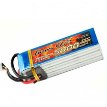 Bateria Lipo 6s 22.2v 5000mah 45c Gens Ace T Rex 550 700