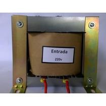 Transformador Trafo 220v / 1x 50v 3,5a E Tomada 0-12v/1-a