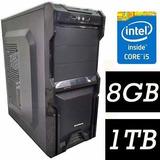 Pc Cpu  Intel Core I5 3.2 Ghz+ 8gb+ 1tb Com Garantia