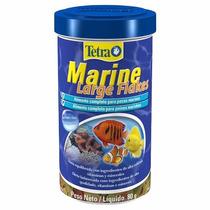 Ração Para Peixe Marinhos Tetra Marine Large Flakes 80g