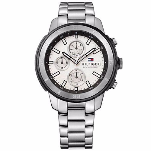3caa8e24c78 Relógio Tommy Hilfiger Masculino Aço Fundo Branco - 1791191