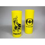 Kit 100 Copos Long Drink 350ml Acrílico Personalizados