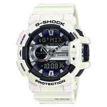 Relogio Casio G-shock Gba-400-7c Branco Lançamento G Mix