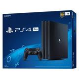 Ps4 Playstation 4 Pro 7215b Sony 1tb 4k Lacrado Nota Fiscal