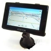 Gps Automotivo Foston 3d 463 Tela 4,3 Avisa Radar Tv Digital