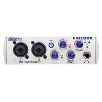 Firebox Presonus Interface De Gravaçao 24-bit / 96 K