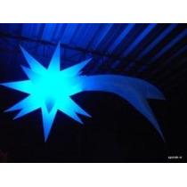 Sputnik Estrela Cometa,natal,decoração,enfeites,dj,pisca,luz