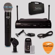 Microfone Sem Fio Brm T40i Mao Loja Shopmusic