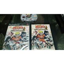 Jogo Naruto Ps2 Original