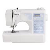 Máquina De Costura Brother Ce5500 Branco/azul-celeste 110v/220v