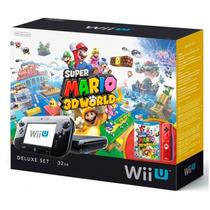 Wii U 32gb Deluxe Set - Usado - 4 Jogos -- R$1.300,00 Só Hj