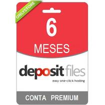 Conta Premium Depositfiles 180 Dias Direto Do Site! Oficial