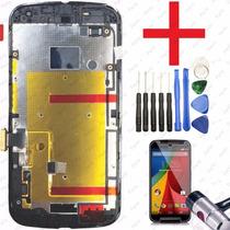 Tela Display Moto G2 + Kit Ferramentas + Película De Vidro